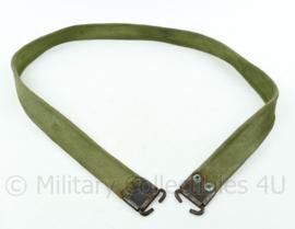 Britse Naoorlogse Lee Enfield groene geweer draagriem - Webbing - 110x3 cm - origineel