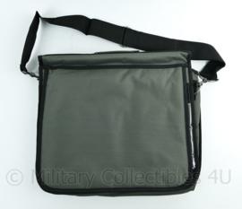 Defensie Dutraco laptop tas grijs - 42 x 33 x 10 cm - NIEUW - origineel
