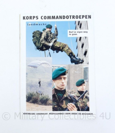 KCT Korps commando troepen folder - origineel