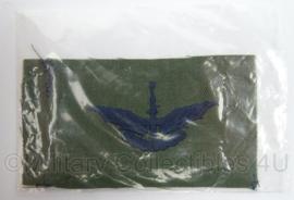 US Air Force USAF Halo Basic SAF embleem - nieuw in verpakking - afmeting 10 x 5,5 cm - origineel