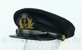 Belgische Marine platte pet - maat 54 - origineel