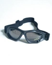 Commando bril air pro zwart