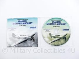 DVD Iranian Military Aircraft  1924-2017 - 2016-2017 Edition -12,5 x 14 cm - origineel