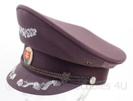 Tsjechische leger platte pet met insigne - maat 56 - origineel
