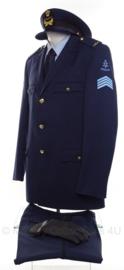KLU Luchtmacht huidig model DT kleding set Sergeant-Majoor - maat 53 - origineel