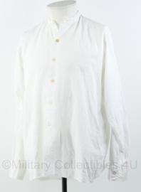 Vintage antiek hemd met rechte kraag - jaren 40 of 50 - maat M - origineel