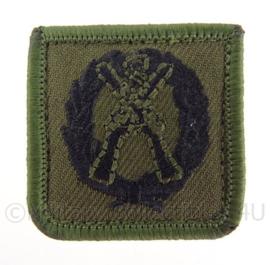 KL Korps Commandotroepen KCT Scherpschutter borstembleem - met klittenband - 4 x 4 cm
