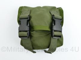 Defensie of US Army Groene MOLLE universele Utility pouch - 16 x 15 x 8 cm - origineel