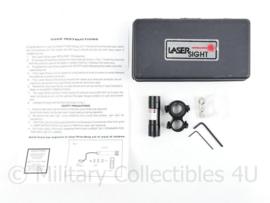 Powerlens lasersight in doosje -  afmeting laser 6,5 x 2 cm - origineel