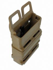 US Army ITW FASTMAG 5.56 GEN kunststof magazijn - COYOTE - afmeting 14 x 8 x 2,5 cm - ongebruikt - origineel