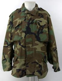 """US M65 Woodland Parka """"Coat, Cold Weather"""" met VOERING - maat Medium Regular - origineel"""