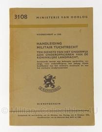 MVO handboek Militair Tuchtrecht - origineel