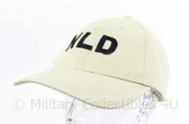 Nederlands leger NLD Baseball cap voor bij missies - nieuw in de verpakking -  maker Hassing BV - one size - origineel