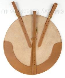 WO2 Britse koppel MK2 helm draagstel bruin leder