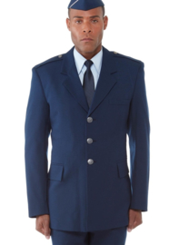 Moderne USAF US Air Force uniform jas Coat Man's Air Force Blue - size 40S = NL 50 (small)  - rang Master Sergeant - origineel