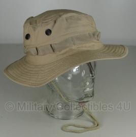 Boonie hat / Bush hat - Luxe model Ripstop - Khaki