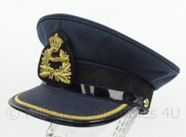 KLu Luchtmacht DT platte pet hoge rang - maker Hassing BV - maat 58 - origineel