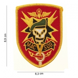 Embleem US Army Vietnam Special Forces patch MAC SOG - 8,9 x 6,3 cm