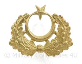 Turkse leger pet embleem - zonder pinnen - 6,5 x 6,5 cm - origineel