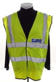 Politie geel reflectie hesje- Police - size 3XL - origineel