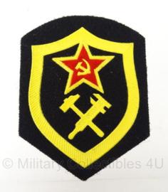 Russische USSR arm embleem technische dienst - 8,5 x 6,5 cm - origineel