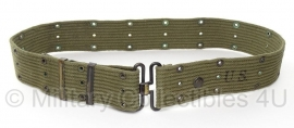 Pistol belt OD - origineel M1951 US Army - identiek aan US wo2 model