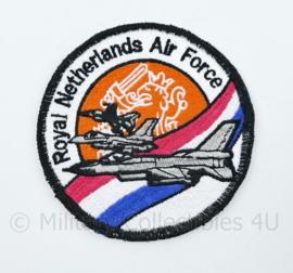 Nieuw gemaakt embleem Royal Netherlands Air Force - diameter 10 cm