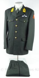 KL Landmacht DT2000 uniform jas en broek met parawing- Bevoorrading en transport 13e Gemechaniseerde Brigade - maat 48 - origineel