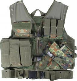 USMC vest met koppel - flecktarn