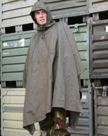 Regenponcho / grondzijl - origineel Bundeswehr