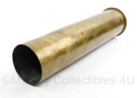 WO1 Duitse huls 1901 maker P114 Karth - 50 cm lang voor 10 cm granaat - 50 x 10,5 cm - origineel
