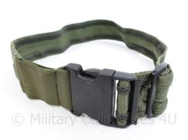 Defensie Beenriem voor droppouch of IFAK medische beentas legstrap groen - 85 x 5 cm - origineel