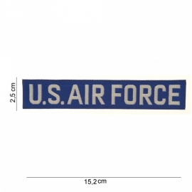 US Air force USAF borst patch - stof - 15,2 x 2,5 cm