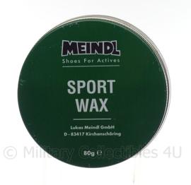 KL Nederlandse leger Meindl Sport Wax blank - 80 gram - nieuw - origineel