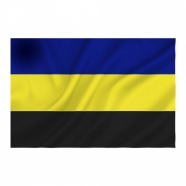 Provincie vlag Gelderland - Polyester -  1 x 1,5 meter