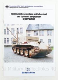Naslagwerk Museum Koblenz Technische beschreibung und lebenslauf Bergepanther  - Duits - 29 x 21 cm