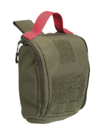 IFAK Individual First Aid Kit pouch Laser Cut - MOLLE draagsysteem - 16 x 7 x 21,5 cm - GROEN