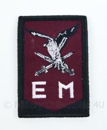 KL Nederlandse leger 11 Luchtmobiele Brigade nieuw model GVT embleem - met klittenband - 8 x 5,5 cm