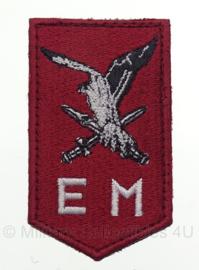 Luchtmobiele Brigade embleem - met klittenband - 7,5 x 4,5 cm