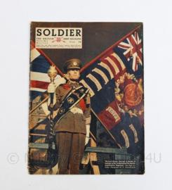 The British Army Magazine Soldier Vol 8 No 3 May 1952 -  Afkomstig uit de Nederlandse MVO bibliotheek - 30 x 22 cm - origineel