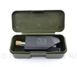 Defensie en Koninklijke Marechaussee onderhoudsuitrusting Glock 17 met snellader - complete set - origineel