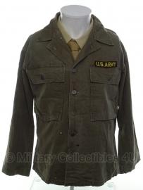 US hbt jas Jackets Herringbone Twill  - size 38R - origineel vietnam oorlog