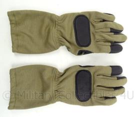 KL Landmacht en Korps Mariniers handschoenen SF Special Forces met aramide protection - coyote - zeldzaam - maat 11/XL - origineel