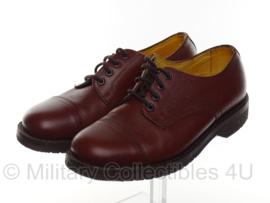 KL Nederlandse leger DT schoenen Handmade Systeem - bruin leer - licht gebruikt - maat 280S = 44S - origineel