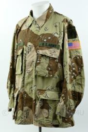 Originele US army uniform jas - BDU desert camo - Sinai missie - ZELDZAAM - maat Large-regular - origineel