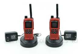 Motorola MTP 850 EX portofoon set met laders - werkend getest - origineel