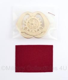 Defensie baret insigne Technische staf - nieuw in de verpakking - 5 x 7 cm - origineel
