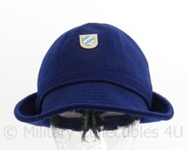 Duitse Bundespolizei hoed - Bayern - maat 56 - maker: Peter Kupper - origineel
