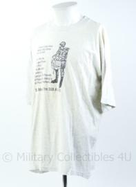 Modern t-shirt US Airborne to me you're still A leg - maat XXL - origineel