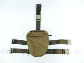 Nederlandse leger droppouch coyote tan - 25x11x26 cm- ongebruikt - origineel